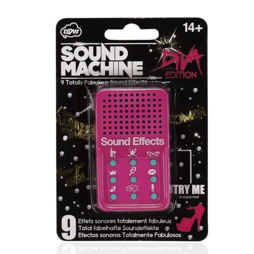 TOYSnPLAY Sound Effects Machine - Diva Special