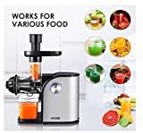 Aicok Slow Masticating juicer, Cold Press Juice Extractor Review and Comparison