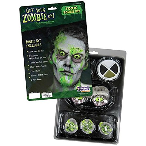Zombie Flo Costume (Toxic Zombie Kit Costume Makeup)