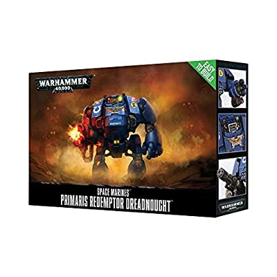 Games Workshop Easy-to-Build Space Marines Primaris Redemptor Dreadnought Warhammer 40,000: Toys & Games