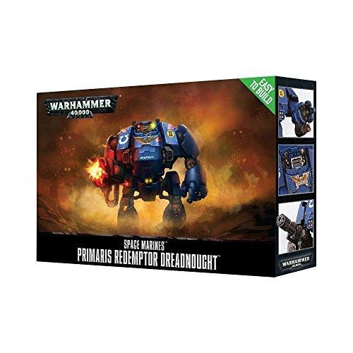Games Workshop Warhammer 40,000 Easy to Build Primaris Redemptor Dreadnought from Games Workshop