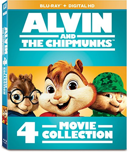 Blu-ray : Alvin and the Chipmunks: 4-Movie Collection (Boxed Set, 4 Disc)