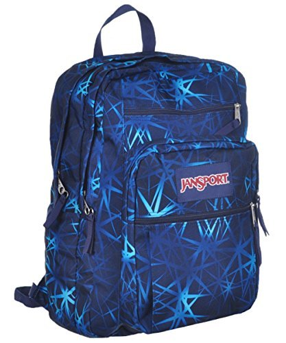Jansport Big Student Backpack - navy, one size