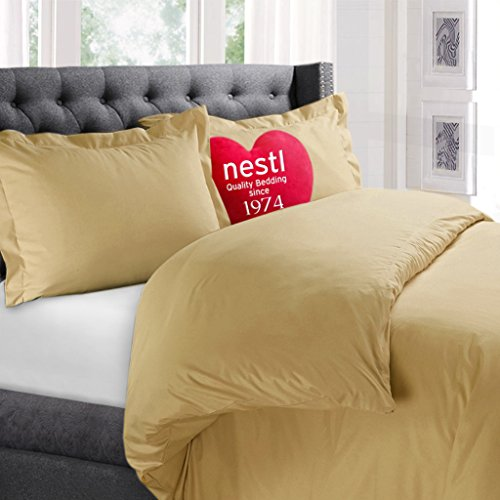Nestl Bedding 3 Piece Queen Yellow product image