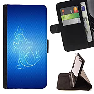 DEVIL CASE - FOR Samsung Galaxy Note 3 III - Glowing Dragon - Style PU Leather Case Wallet Flip Stand Flap Closure Cover