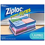 Ziploc Flexible Totes, Jumbo 22 Gallon Qty: 1 Bag (Pack of 2)