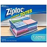 Ziploc Flexible Totes, Jumbo, 1 ct (3-Count, Jumbo)