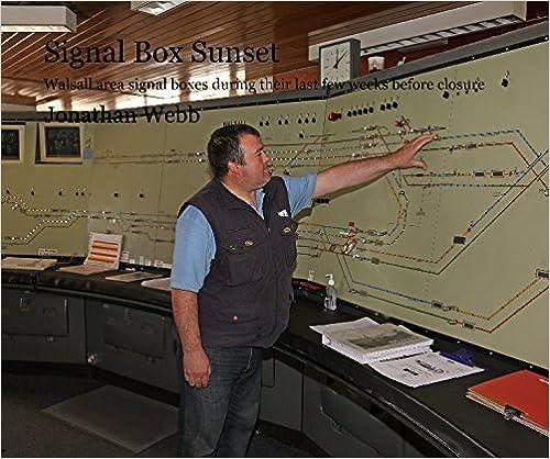 Book Signal Box Sunset