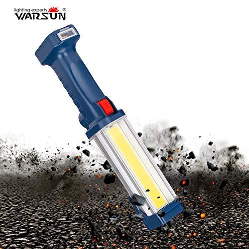 WARSUN Portable COB Rechargeable Work Light