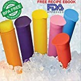 6 Popsicle Molds Bpa Free, Popsicle Molds Tupperware, Popsicle Molds Silicone, Homemade Popsicle Molds, Popsicle Maker, Popsicle Maker Bpa Free, 6 Popsicle Maker 100% GUARANTEED+FREE RECIPE EBOOK