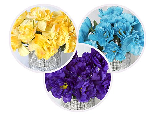 BalsaCircle-60-pcs-Silk-PEONY-Flowers-for-Wedding-Arrangements-12-bushes