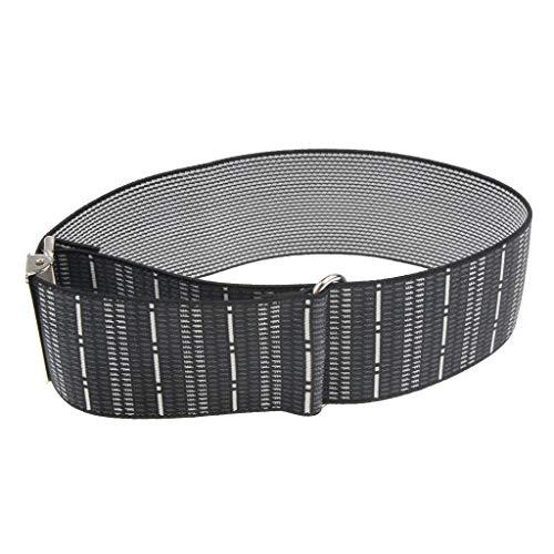 Fityle Men's Non Slip Elastic Shirt Garter Belt Sleeves Holder Arm Garter Band - Stripes, as described by Fityle (Image #4)