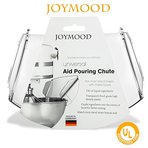 Pouring Shield, JOYMOOD Universal Pouring Chute for KitchenAid Bowl-Lift Stand Mixer Attachment/Accessories by JOYMOOD (Image #5)