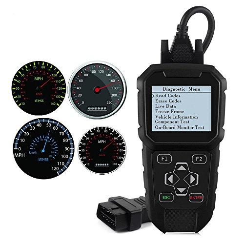 FidgetFidget Auto Odometer Adjustment Correction Mileage Reset OBDII Diganostic Scanner MT401