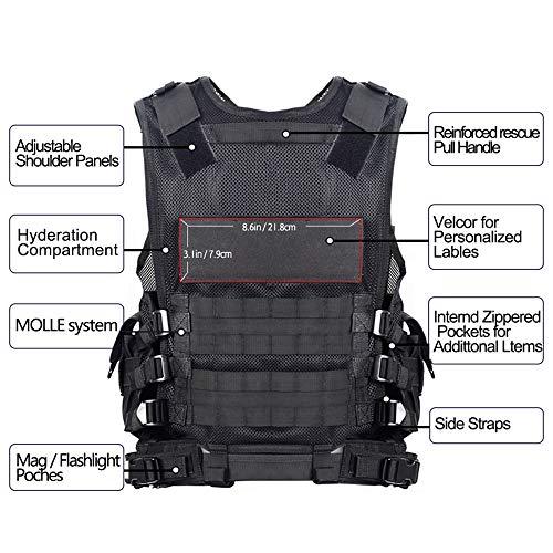 Yakeda Tactical Cs Field Vest Outdoor Amplefair