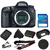 7d ii - Canon EOS 7D Mark II DSLR Camera (Body Only) + 16GB I3ePro SD Card
