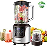 Blender, AAOBOSI Smoothie blender, Professional Blender with 52...