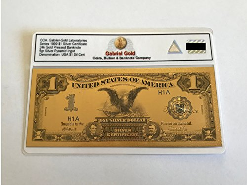 (1899 $1 Gold Certificate Banknote)