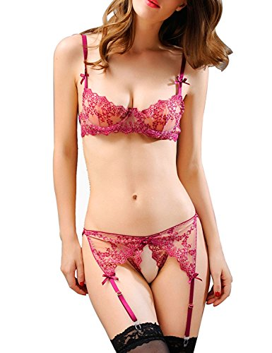 Iooho Lingerie Corset Bikini Underwear