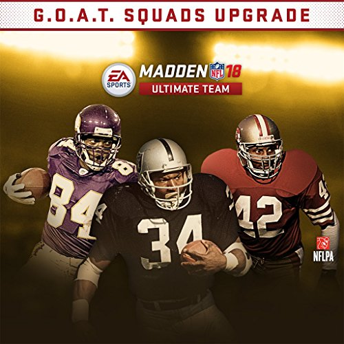 Madden 18 Goat Squad Edition Upgrade   Ps4  Digital Code