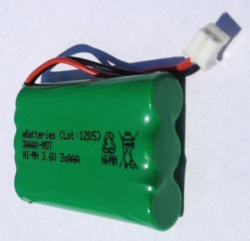 Quality Replacement Battery For Motorola Digital Video Baby Monitor TFL AAA Model MBP33 MBP36 MBP36PU Part TFL3X44AAA900 CB94-01A 3.6V NiMH - Model Video Digital
