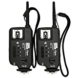 PIXEL Opas x 2 Shutter Release Remote Control High-speed Sync Flash Trigger Transceiver for Canon