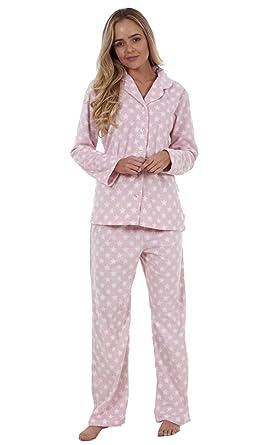 riesige Auswahl an weit verbreitet bester Wert 2-Teiliger Fleece-Schlafanzug für Damen Animal-Print Sterne ...