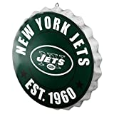 New York Jets NFL Bottle Cap Wall Sign