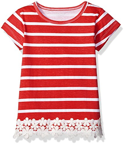 French Toast Little Girls' Short Sleeve Shirt