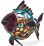 Fish Cork Cage Caddy by Picnic Plus Displays And Stores over 55 Wine Corks