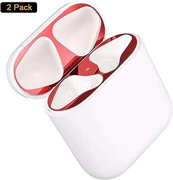 Imagen deRojo Dust Guard el Polvo Guardia Compatible con Apple AirPods [Proteger del Hierro y Las virutas de Metal]