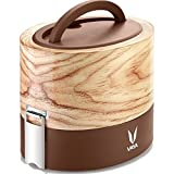 Vaya Tyffyn 600 Insulated Lunch Box - Stainless Steel Leak-Resistant Food Storage Container - 100% BPA Free, Eco-Friendly & Reusable Lunch Box For Adults & Kids 20 oz Total Capacity
