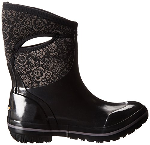 Bogs Ladies Insulated Wellington Boot Size UK 4-9 Plimsoll Mid Black 71543 001-UK 9 (EU 43)