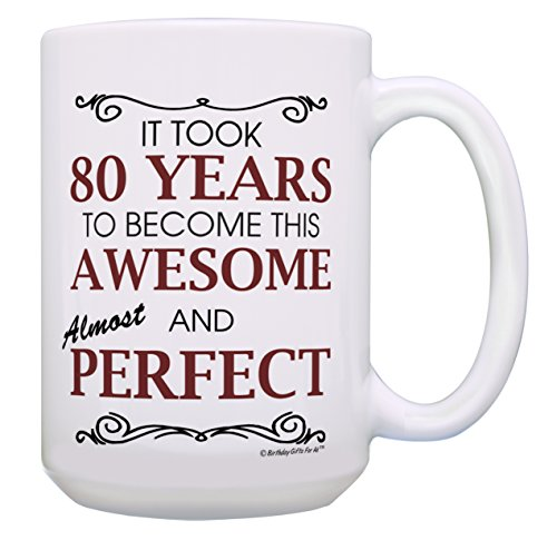 80th Birthday Gifts for All 80 Years Awesome