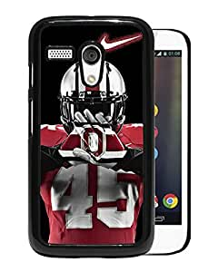 Motorola Moto G 1st Ncaa Big Ten Conference Football Ohio State Buckeyes Black Screen Cellphone Case Unique and Genuine Design