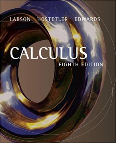 Larson calculus: complete solutions guide, volume 3: bruce-h.