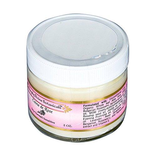 Creme de Rose Heavenly Facial Moisturizer 2 oz by Simply Divine Botanicals
