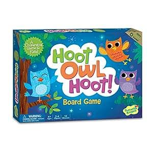 Peaceable Kingdom Hoot Owl Hoot Award Winning Cooperative Matching Game for Kids