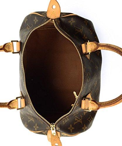 Authentic Women's Vintage Louis Vuitton Speedy 30 Brown Monogram Travel Bag by Louis Vuitton (Image #4)