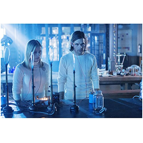 Jason Ralph 8 inch x 10 inch Photograph The Magicians (TV Series 2015 - ) in Lab Next to Olivia Taylor Dudley Pose 1 kn