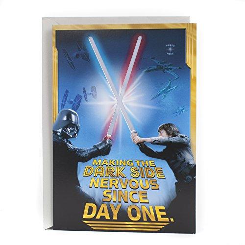 Hallmark Star Wars Birthday Card (Happy Birthday, Young Jedi)