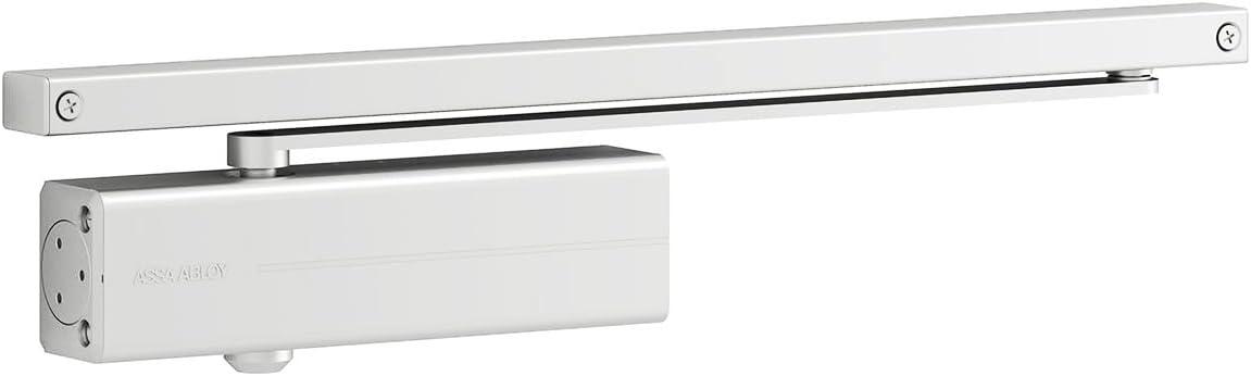 Tesa Assa Abloy DC135-D9016, Cierrapuertas de guía deslizante, Blanco