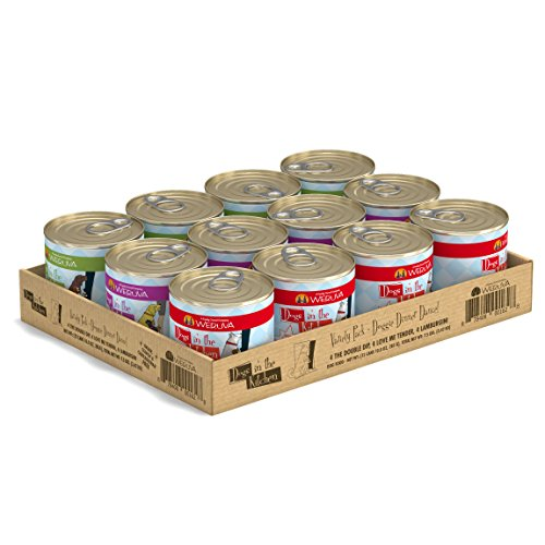 Weruva Dogs in The Kitchen, Variety Pack, Doggie Dinner Dance!, Wet Dog Food, 10oz Cans (Pack of 12) Review