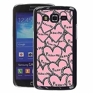 A-type Arte & diseño plástico duro Fundas Cover Cubre Hard Case Cover para Samsung Galaxy Grand 2 (Aloha Palm Tree Sea Summer Ocean)