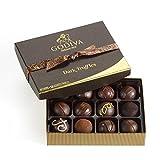 GODIVA Chocolatier Dark Chocolate Truffles Gift Box