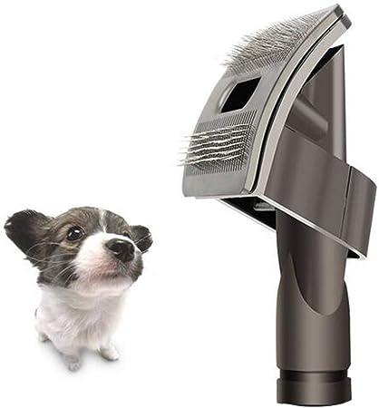 Aiweijia Accesorios para Dyson Vacuum Perro Mascota Animal Novio Cepillo Manguera de Extensión de Accesorio para Dyson V11 V10 V8 V7 con Adaptador Convertidor: Amazon.es: Hogar