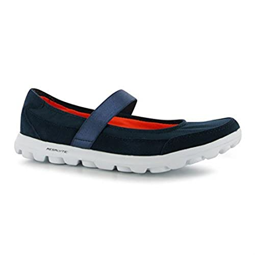 Skechers para mujer go Walk Ed - Fitness en entrenamientos deportivos zapatos de Casual, color azul, talla 41 EU: Amazon.es: Zapatos y complementos
