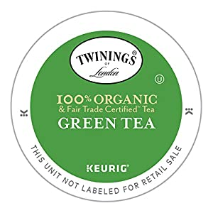 Twinings Organic Pure Green Tea, Keurig K-Cups, 12 Count (Packaging May Vary)