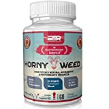 Best Horny Goat Weed for Men / Women. Libido Booster Supplement Tablets. Tribulus Terrestris Testosterone Enhancement Capsules Boost stamina and overcome Erectile Dysfunction with our Boosting Pills
