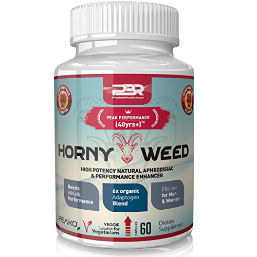 Best Horny Goat Weed for Men / Women. Libido Booster Supplement Tablets. Tribulus Terrestris Testosterone Enhancement Capsules Boost stamina and overcome Erectile Dysfunction with our Boosting (Female Sexual Enhancement Drugs)